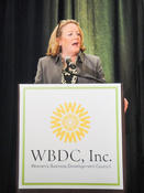 <strong>Connecticut's First Lady and CEO of Greater Hartford Arts Council Cathy Malloy, the Breakfast Chairwoman has been actively involved with WBDC since its inception.</strong>