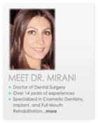 Mirani DDS, Beverly Hills Cosmetic Dentist