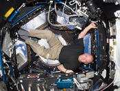 <strong>NASA astronaut Scott Kelly, pictured in the Cupola of the ISS, was selected as the first U.S. crew member to serve a 1-year increment aboard the station, planned for the spring of 2015. (NASA)</strong>
