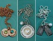 <strong>The Vintage Pearl hand-stamped jewelry</strong>
