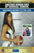 Marion County Public Health Dept's Poster for the HPV vaccination.