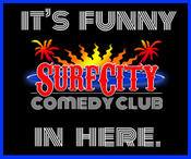 <strong>Surf City Comedy Club Logo</strong>