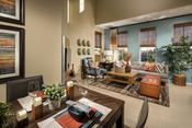 Family Room; Aster, Plan A1-U