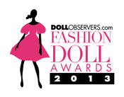 <strong>The 2013 DollObservers.com Fashion Doll Awards Logo designed my community member Juan Carlos Medina</strong>
