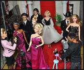 <strong>The Fashion Doll world's glitterati gather to hear who will be announced the winners in this year's DOFDAs in a photo by community member Nilsa Donelan.</strong>