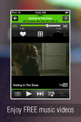 <strong>You can search and play FREE music videos</strong>