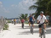 <strong>Cycling in Costa Maya, a great place, food is scrumptious.</strong>