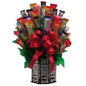 <strong>This bouquet starts with a Hershey's Chocolate Bar base and is finished with blooming chocolate candy bars of all kinds. Visit the Candy Bouquet collection at Arttowngifts.com.</strong>