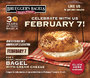 Bruegger's Bagels Celebrates 30 Years of Fresh-Baked Bagels