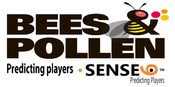 <strong>Bees and Pollen Logo</strong>