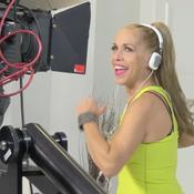 Marina Kamen aka MARINA - On set shooting MARINA's High-nrg Fitness video!