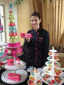 <strong>Chef Grace Abdo showcases French Macarons at Williams-Sonoma on 2.10.13</strong>