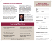 Chicago Dental Course description and learning objectives