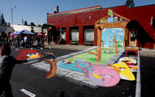 <strong>3D Street Painting - We Talk Chalk - Rovio Entertainment - Angry Birds</strong>