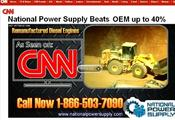 <strong>National Power Supply, Industry Leaders in Remanufactured Diesel Engines.</strong>