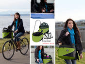 <strong>The Cocoon bike basket can be used in a multitude of ways: as a bike basket, grocery basket, pet carrier, pet car seat, and more.</strong>
