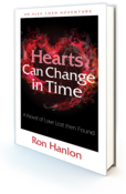 <strong>Hearts Can Change in Time (front cover) for press release titled Romance Novel Offers Unexpected Twists</strong>