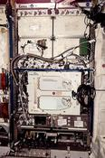 Plant habitat developed for the ISS provides a large, enclosed, environmentally controlled chamber designed to support commercial and fundamental plant research aboard the space station. (NASA)