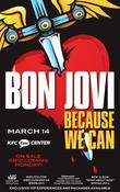 <strong>The Because We Can Tour will be the first time Louisville fans get to hear new music from Bon Jovi's latest album, &quot;What About Now&quot;.</strong>