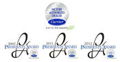 <strong>Sansone won the Carrier President's Award in 2007, 2011 & 2012. The President's Award is Carrier's most prestigious award.</strong>