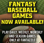 2013 Fantasy Baseball Now Available at Fantazzle.com; Fantazzle Fantasy Sports Games Offers a Variety of the Most Unique Daily and Season-Long Fantasy Baseball Games!