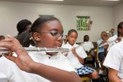 <strong>The school's music and art program provide as a way for students to creatively express themselves. Holy Name of Jesus holds annual Music and Performing Arts Shows throughout the year.</strong>