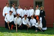 <strong>The Northville Eclipse is a volunteer group of baseball and history enthusiasts who compete against other Midwest vintage teams, using the rules and gentlemanly conduct of the 1860s.</strong>