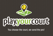 <strong>Official Logo for PlayYourCourt.com</strong>