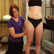 <strong>Demonstration of Cellulite Massage techniques - how to identify cellulite</strong>