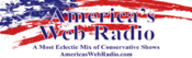 <strong>America's Web Radio.com logo is known throughout the United States and around-the-world.</strong>