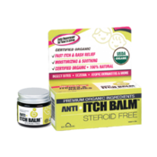 <strong>Anti itchbalm is USDA organic certified and FDA-registered OTC drug.