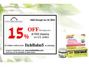 <strong>ORGANIC ITCH OINTMENT, ANTI ITCHBALM 15% OFF COUPON CODE