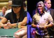 <strong>Christina Kwan, a former U.S. National and World Amateur Champion boxer and Kimbo Ung, a Heartland Poker Tour Event Champion.</strong>