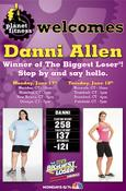 <strong>Stop into Planet Fitness Connecticut Locations and Meet Biggest Loser Champion Danni Allen</strong>