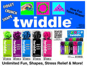 Twiddle in 25pc display