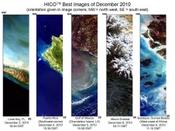 <strong>These are images taken from the International Space Station using the Hyperspectral Imager for the Coastal Ocean (HICO) instrument.Image Credit: NASA</strong>
