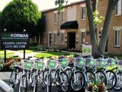 <strong>LIVEKORMAN Bike Share at Korman Residential at International City Chalets in Philadelphia, PA</strong>