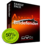 Bitdefender Coupon - Flat 50% OFF on Bitdefender Family Pack 2013 Coupon