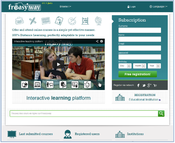 <strong>Students can start with a specific link (their social network on Freasyway), fulfill their needs and share information though an advanced learning platform. They can share text & files,</strong>