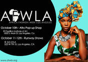 <strong>Africa Fashion Week Los Angeles 2013</strong>