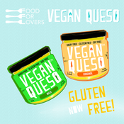 <strong>Food for Lovers Vegan Queso Now Gluten Free</strong>