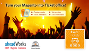 <strong>Event Tickets Magento module - aheadWorks</strong>