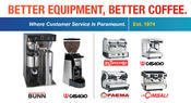 <strong>Restaurant Coffee Equipment and Hospitality Espresso Machines</strong>