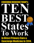 <strong>Concierge Medicine Today releases the Top 10 Best Places To Work In Concierge Medicine and Direct Primary Care in 2014.</strong>