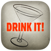 <strong>This the button you will see for the app DRINK IT!</strong>