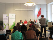 <strong>Press Conference in Vienna about the now fully sequenced genome of the Chinese Hamster</strong>