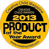 <strong>The 2013 Creative Child Magazine Product of the Year awarded to Tumblehome Learning's Blockade and other Games</strong>