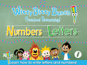 <strong>Learn how to write letters and numbers</strong>
