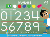 <strong>Trace and practice each number.</strong>