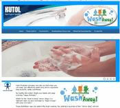 <strong>The Kutol &quot;Wash-it-Away&quot; website contains fun handwashing information and photo entries.</strong>